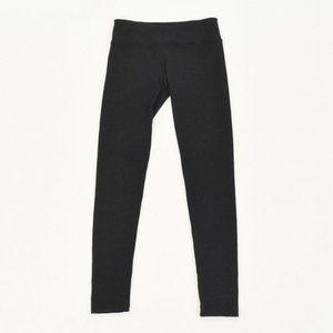 Hard Tail Black Knit High Waisted Leggings
